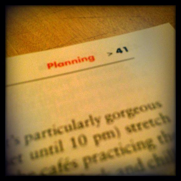 Planning 41