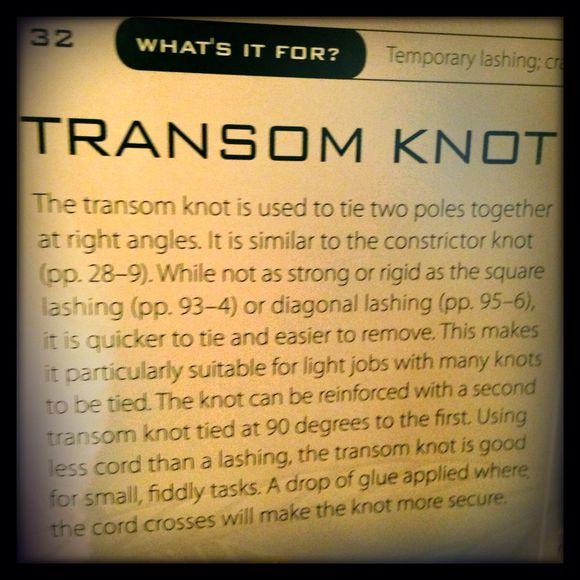 32 transform knot